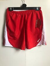 Wilson Women's Tennis Athletic Shorts - Large (L) - Red - New
