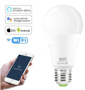 ampoule intelligente lampe LED wifi google assistant et Alexa