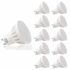 LOHAS No-Regulable 6Watt GU10 LED Bombillas, Equivalente a (Blanco Diurno)