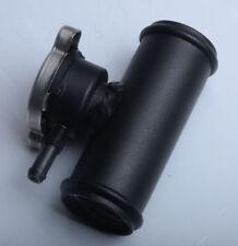 """In Line Radiator Hose Filler Neck/Cap 1-1/2"""" Hose (38mm) BLACK"""