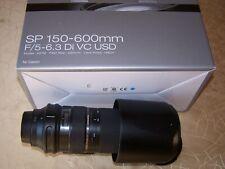 Zoom Tamron 150-600mm f/5-6.3. Di VC USD monture Canon