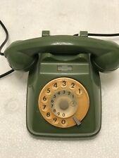 TELEFONO TELEPHONE PHONE fisso AUSO SIEMENS SIP VERDE ORIG 70s NON RIVERNICIATO