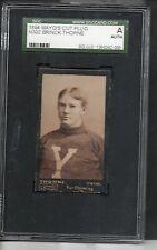 1894 Mayo N302 Football Card-Brinck Thorne-N302-Yale