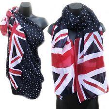 Union Jack & Star Print UK British Flag Sarong Beach Cover-Up Scarf  Kaftan 158