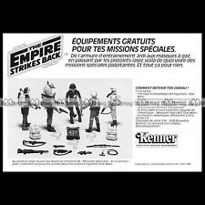 STAR WARS Missions Figurine Kenner Clipper (1982) Pub Publicité Advert Ad #B605