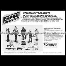 STAR WARS Missions Figurine Kenner Clipper (1982) Pub Publicité Advert Ad #B605