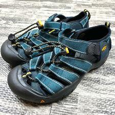 Keen Kids Newport H2 Sandals Size 2 in Teal Green
