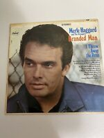 MERLE HAGGARD BRANDED MAN 1967 STEREO LP ST-2789 Condition Good