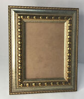"Victorian Picture Frame Gold Gilt Ornate Freestanding Only Holds 5x7"" Photo"