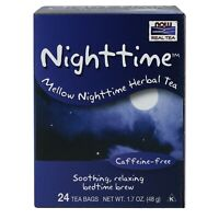 NOW Foods Nighttime Tea, 24 Bags