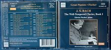 BACH - THE WELL - TEMPERED CLAVIER BOOK 1 - EDWIN FISCHER - 2 CD n.5429