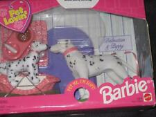 1998 PET LOVIN' Dalmatian Dog and Dalmatian Puppy with Accessories NRFB #20849