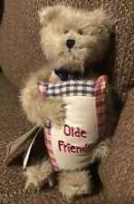 Boyds The Head Bean Collection Brown Bear W/Olde Friends Pillow Bea A Goodfriend