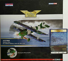 Corgi Aviation Albatros DVa Jasta 40 1918 AA37806 certificat nº 1200 de 1200