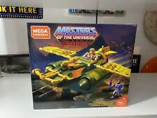 MOTU Mega Construx Masters Of The Universe Wind Raider Attack He-Man, Skeletor