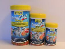 TETRA PRO ENERGY 20g, 55g, 110g Premium Tropical Aquarium Fish Food/ Crisps
