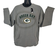 Green Bay Packers Men's Pullover Sweatshirt With Frount Pouch Size L