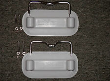 Dinghy grey Rubber Pads & Yokes for replacement. Weaver Marine.Lifetime Warranty