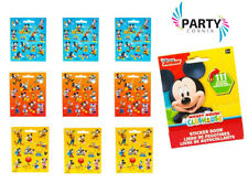 Mickey Mouse Birthday Party Supplies Favours STICKERS BOOK Genuine Licensed