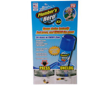 PLUMBERS HERO DRAIN,SINK & TOILET UNBLOCKER  AVAILABLE NOW FROM UNIFLO PRODUCTS.