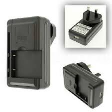 Universal Mobile Battery Charger With UK 3 Pin Plug & USB Port for all types