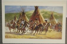 "Howard Terpning ""Capture the Horse Bundle"" S/N L/E  863/1250 RARE mint w/ COA"