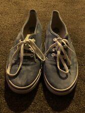 Blue Denim Style Vans Shoes UK Size 5 EU Size  38