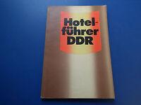 DDR - Fachbuch Handbuch Hotelführer DDR Softcover guter Zustand gebarucht 1986
