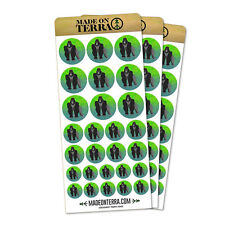 Gorilla Removable Matte Sticker Sheets Set