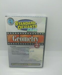 The Standard Deviants - Geometry Interactive DVD Part 2 New Sealed