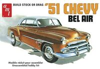 AMT 1:25 Scale 1951 Chevy Bel Air Plastic Model Kit AMT862