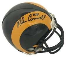 Nolan Cromwell Autographed Los Angeles Rams Riddell Mini Helmet JSA 10034