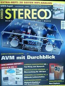 STEREO 8/18,CAMBRIDGE AUDIO SOLO,DUO,CYRUS ONE HD,DYNAVOX VT 80,VAC SIGMA 170i Q