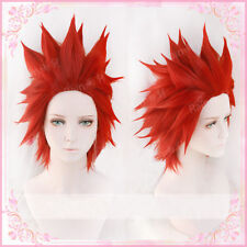 Eijirou Kirishima Wig My Hero Academia Eijiro Short Red Cosplay Hair Wig + Cap