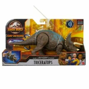 Jurassic World Sound Strike Triceratops - New in stock