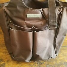 Ariat Polyester Canvas Carry All Tote Bag, Grooming HANDBAG Brown