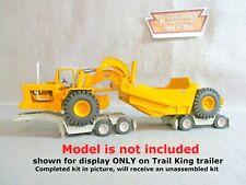 Keystone Models  Trail King Scraper Trailer (RESIN) Unassembled Kit 1/48 KIT