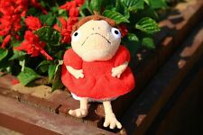 "PONYO With Feet Gake no ue no Ponyo Soft Plush Doll Miyazaki Hayao 8"" NWT"