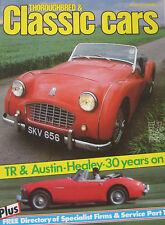 Classic Cars magazine 08/1983 Bristol 400, Triumph TR3, Marcos, Donald Healey