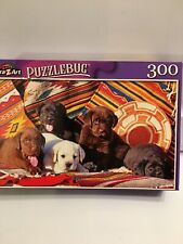 Jigsaw Puzzle 300pc Puzzlebug New  Five Labrador Retrievers Amigos Puppies