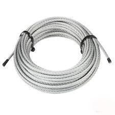 "T-304 Grade 7 x 7 Stainless Steel Cable Wire Rope 1/16""- 100 ft"