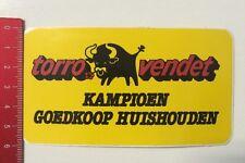 Aufkleber/Sticker: Torro Vendet - Kampioen Goedkoop Huishouden (160316128)