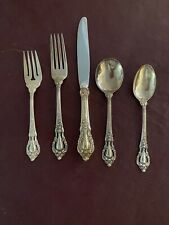 New listing 12 place setting sterling silver flatware