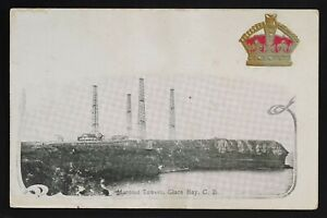 Marconi Tower Glace Bay Cape Breton NS McCoy Printing crown Patriotic -faults