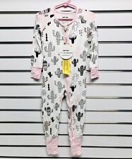 Little Sleepies Pink Cactus Size 18-24 Months Bamboo/Spandex NWT  K1