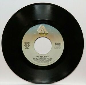 THE ALAN PARSONS PROJECT THE GOLD BUG/YIME (NM) AS-0598 45 RECORD