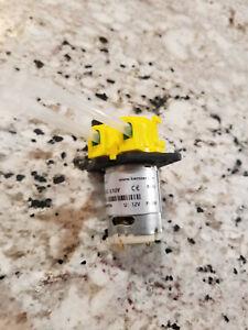 Yellow Dosing Pump Peristaltic Pump 12V DC Liquid Water pump Fish Tank Dosing