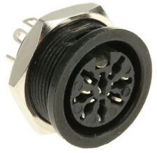 RS Pro 8 Pole Din Socket Socket, 4A, 100 V ac