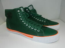 PF Flyers  GREEN Canvas Hi Tops New Gum Toe Mens Size 16