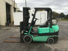Mitsubishi Fgc25K 5000Lb Propane Forklift with 4123 Hours